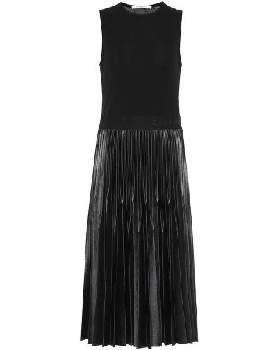 Платье миди деловое плиссированное Givenchy