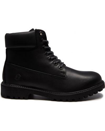 Черные ботинки Lumberjack
