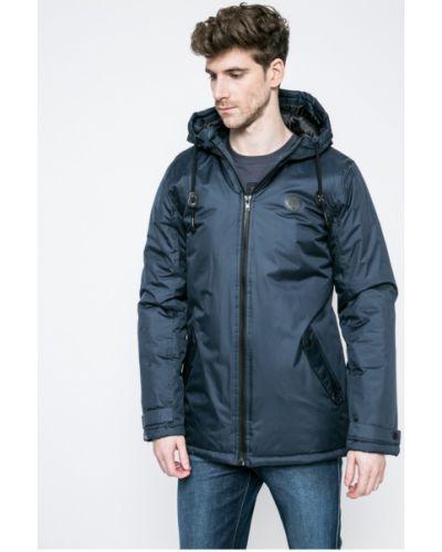 Утепленная куртка с капюшоном с запахом Blend