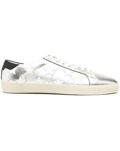Szare sneakersy Saint Laurent