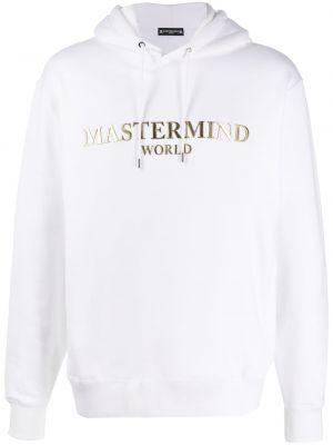 Złota bluza długa z kapturem z długimi rękawami Mastermind World