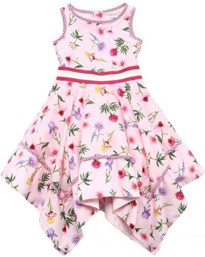 Платье на молнии - розовое Monnalisa