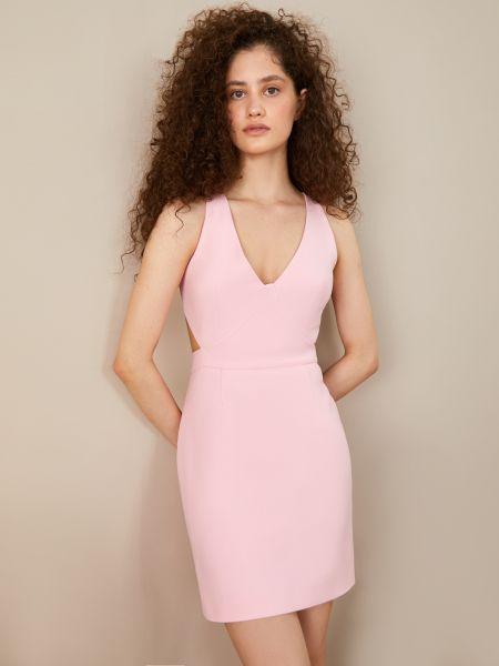 Платье с V-образным вырезом с вырезом 12storeez