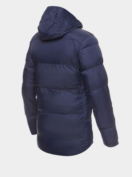 Синяя куртка с капюшоном на молнии New Balance