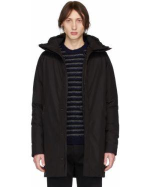 Długa kurtka z kapturem pikowana Norse Projects