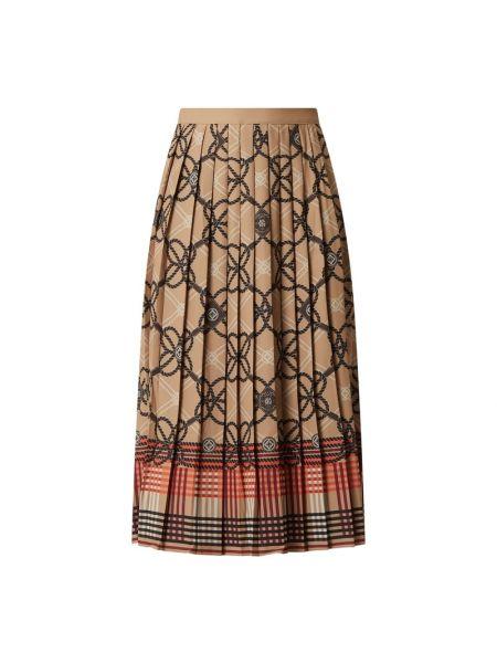 Długa spódnica - brązowa Gant