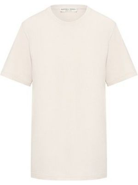 Хлопковая футболка - бежевая Bottega Veneta