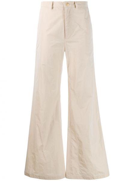 Расклешенные свободные брюки с поясом Palomo Spain