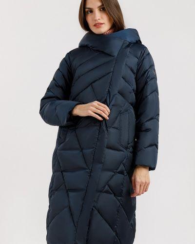 Стеганое пальто - синее Finn Flare