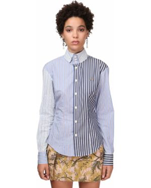 Рубашка с воротником с манжетами с вышивкой Vivienne Westwood