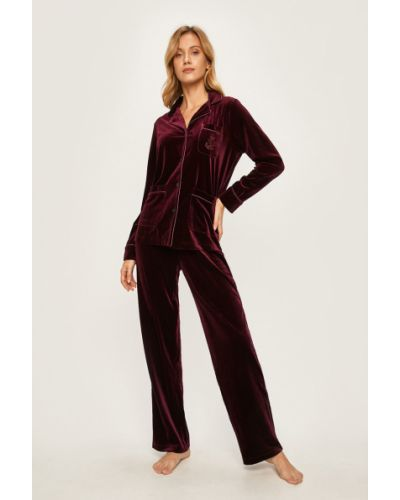 Spodni piżama długo piżama Lauren Ralph Lauren