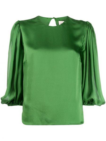Блузка шелковая прямая Alexandre Vauthier