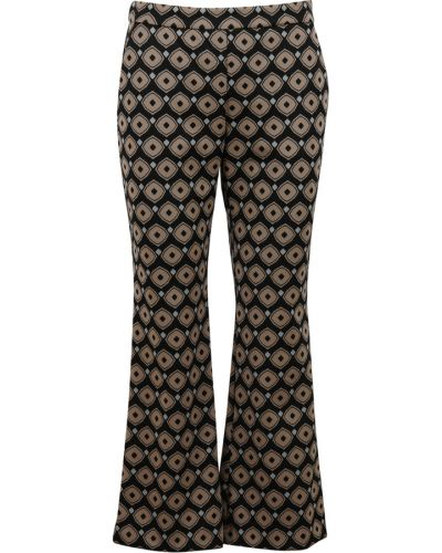 Czarne spodnie Maliparmi