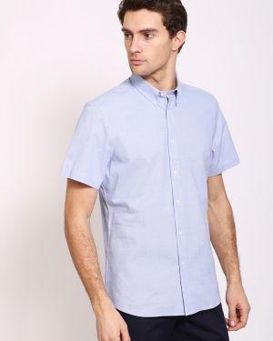 С рукавами хлопковая рубашка с короткими рукавами Pezzo