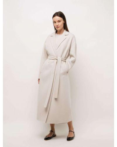 Шерстяное пальто - белое 's Max Mara