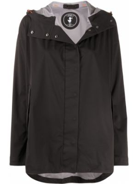 Куртка с капюшоном черная с карманами Save The Duck
