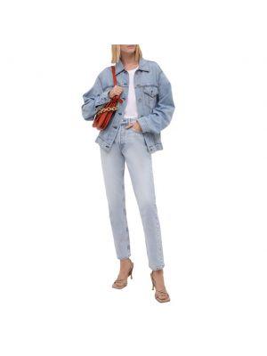 Хлопковая джинсовая куртка - синяя Rag&bone