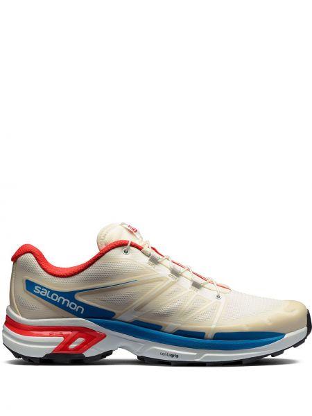 Белые нейлоновые кроссовки Salomon S/lab