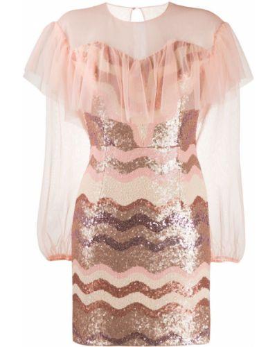 Платье макси с длинными рукавами Three Floor
