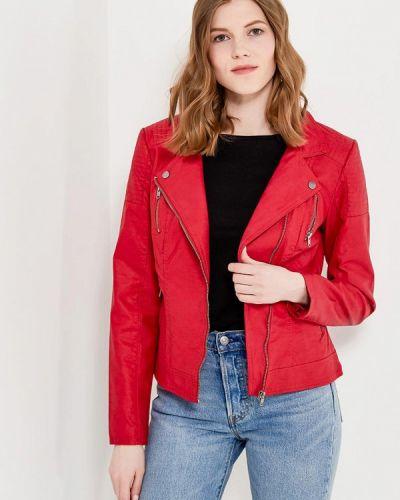 Красная куртка весенняя Only