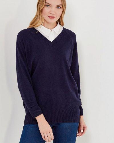 Синий пуловер 2018 Delicate Love
