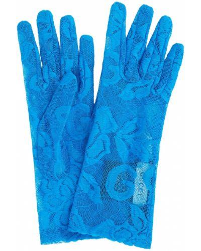 Кружевные перчатки из вискозы Gucci