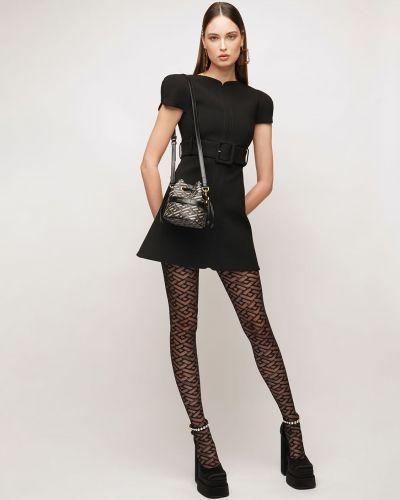 Pończochy - czarne Versace