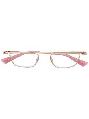 Розовые очки металлические Christian Roth