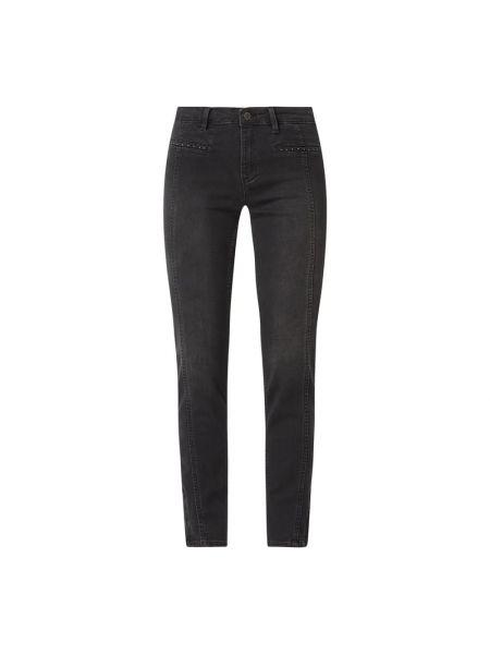Czarne jeansy bawełniane Rosner