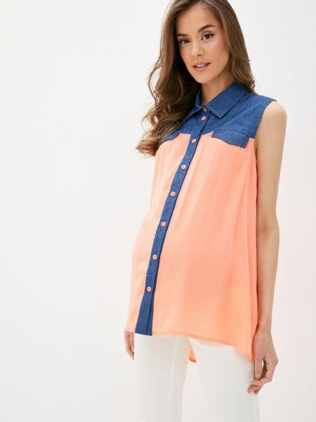 Блузка без рукавов весенний Mammysize