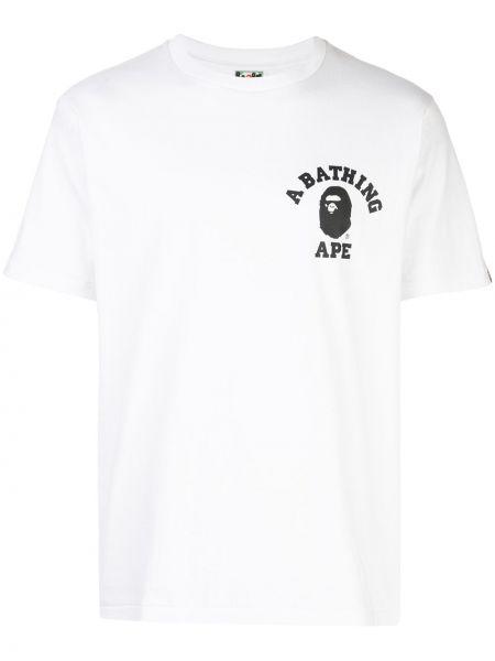 Koszula długa z nadrukiem Bape