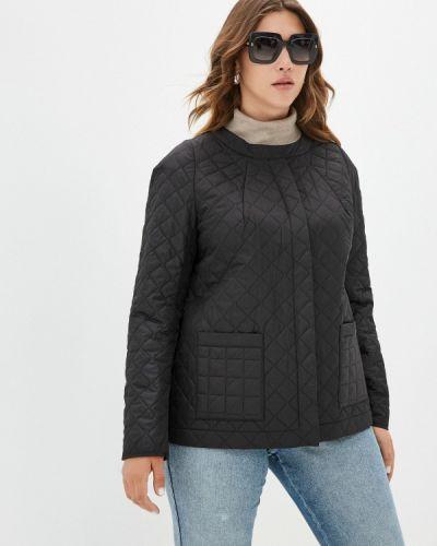 Черная утепленная куртка Helmidge