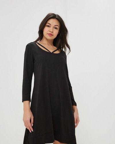 Платье весеннее черное Silvian Heach