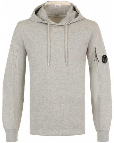 Серый свитер хлопковый C.p. Company
