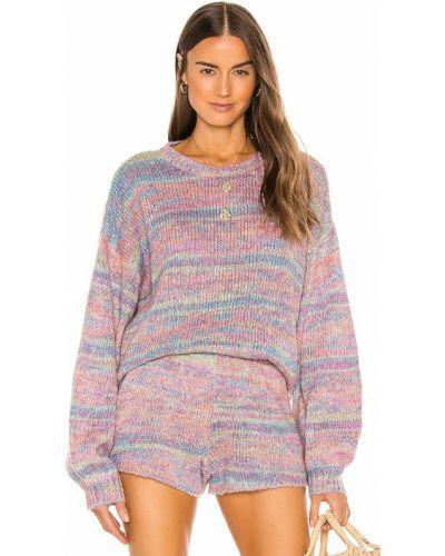Акриловый розовый свитер Show Me Your Mumu