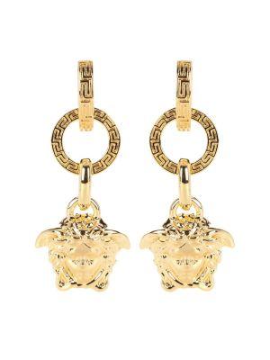 Серьги-гвоздики металлические Versace