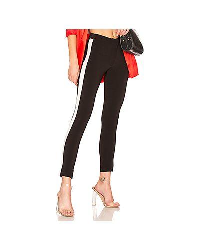 Спортивные брюки на резинке кожаные Lovers + Friends