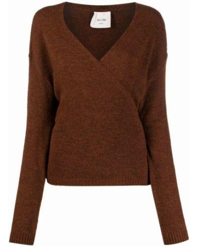 Brązowy sweter Alysi