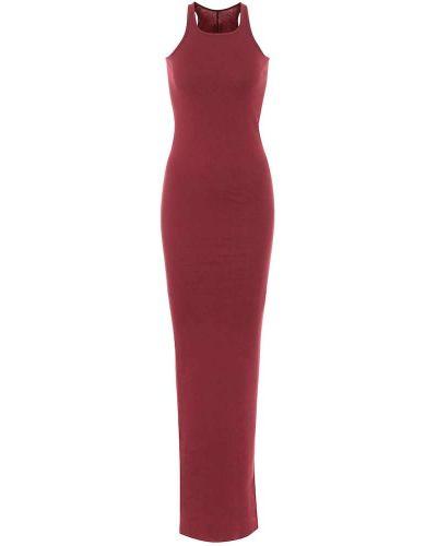 Bawełna bawełna klasyczny długo sukienka Rick Owens