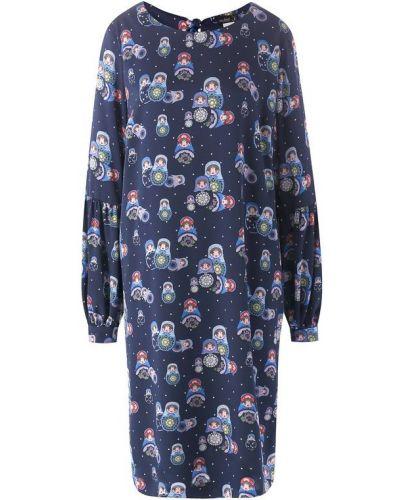 Шелковое платье Van Laack