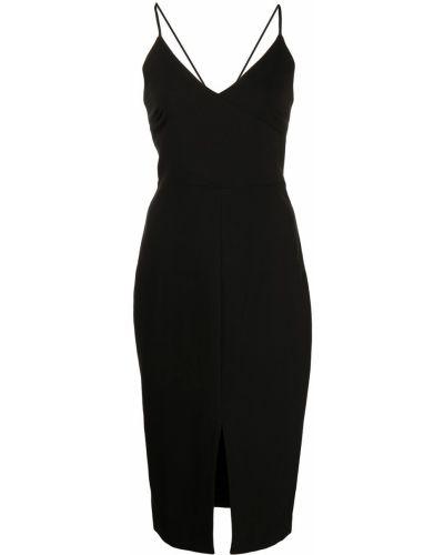 Платье с V-образным вырезом - черное Likely