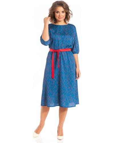 Приталенное нарядное с рукавами платье миди Merlis