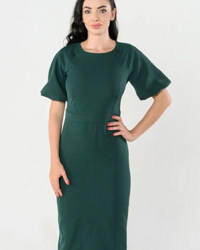 Платье осеннее зеленый Kotis Couture