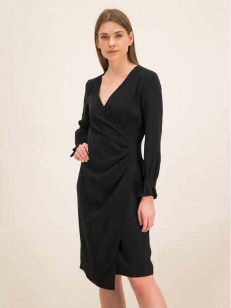 Czarna sukienka koktajlowa Iblues