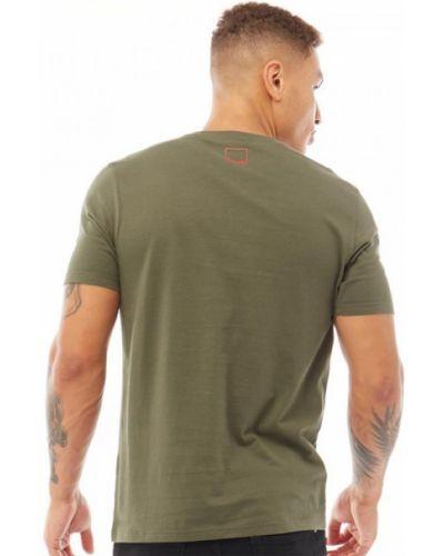 Зеленая футболка Bench