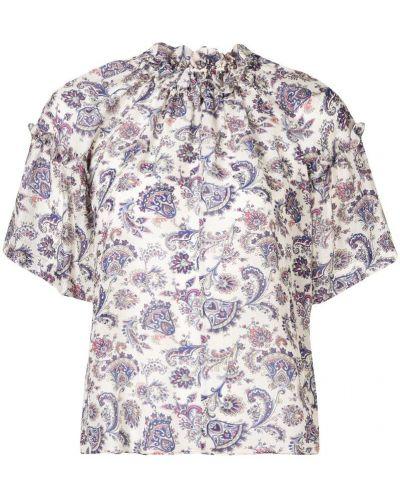 Блузка свободного кроя с принтом Isabel Marant