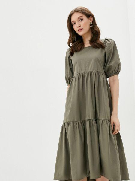 Зеленое платье By Swan