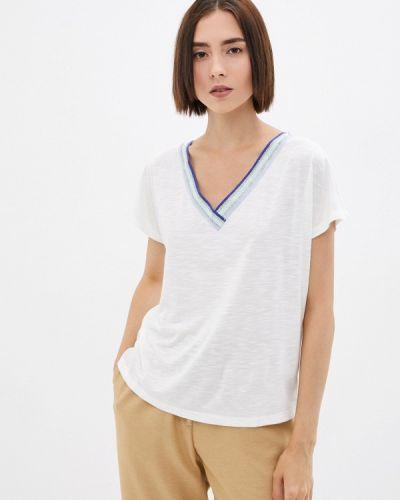 Белая зимняя футболка Colin's