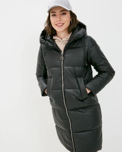Черная кожаная куртка Shelter