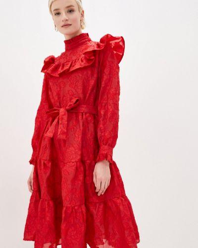 Красное вечернее платье Sister Jane